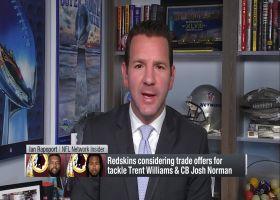 Ian Rapoport: Redskins actively trying to trade cornerback Josh Norman
