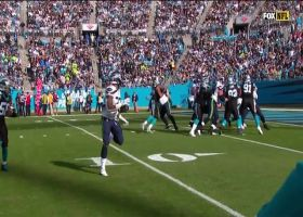 Panthers collapse pocket on Wilson for huge sack