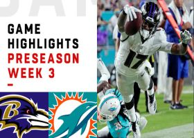 Ravens vs. Dolphins highlights | Preseason Week 3