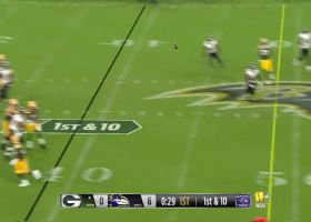 Kizer lasers 22-yard pass to Kumerow