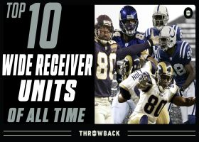 NFL Throwback: Top 10 wide receiver units of all time