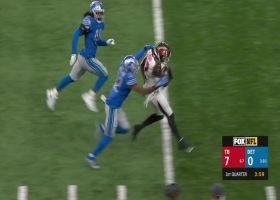 Chris Godwin bursts into Lions secondary for 51-yard catch and run
