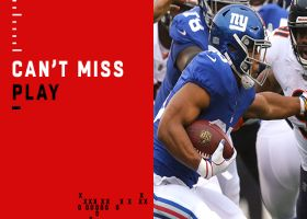 Can't-Miss Play: Saquon shows Barry Sanders-like moves on insane run