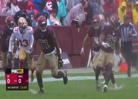 Troy Apke uses 4.3 speed to pick off Jimmy G for first career INT