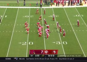 Angelo Blackson swims through line to sack Jimmy G