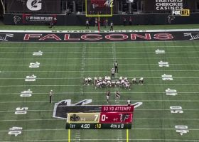 Younghoe Koo drills 53-yard field goal with ease