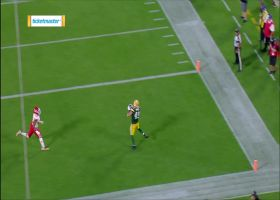 Evan Baylis caps off Packers drive with goal-line TD catch