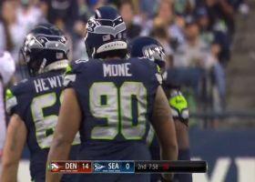 Seahawks swarm Drew Lock for sacks on successive plays