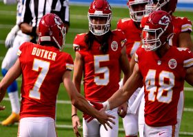 Harrison Butker DRILLS career-long 58-yard field goal
