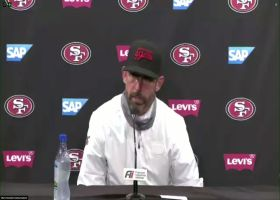 Kyle Shanahan reacts to win over Rams in Week 6