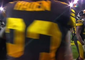 Steven Nelson returns tipped Josh Allen interception 33 yards