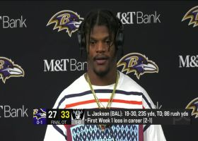 Lamar Jackson on 'MNF' fumbles: 'That ticked me off'