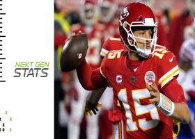 Next Gen Stats: Mahomes' quick passing sends Chiefs back to Super Bowl