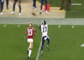 Goff drops downfield DIME in the bucket to Woods