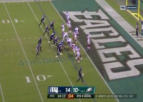Giants complete goal-line stand with Logan Ryan's PBU