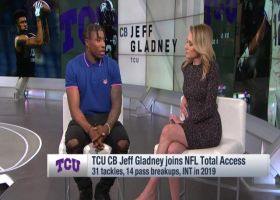 Jeff Gladney reflects on his showcase college performance vs. Hakeem Butler