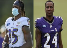 Rapoport: Ravens fear Gus Edwards, Marcus Peters suffered 'significant knee injuries'