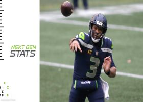 Top 5 connections by air-distance yards | Super Wild Card Weekend