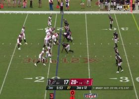 Falcons sack Brady with well-designed stunt on third-and-12