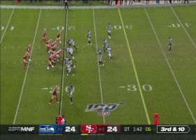 Shaquill Griffin lays out for clutch third-down PBU on Jimmy G's deep ball