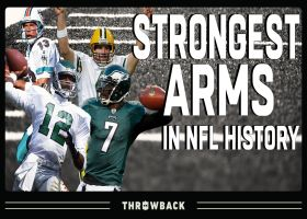 Strongest arms in NFL history | NFL Throwback