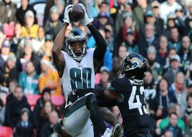 Jordan Matthews high points sideline catch