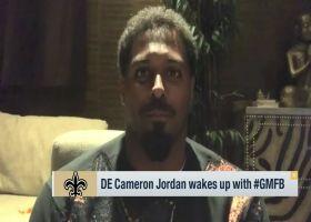 Cam Jordan on Saints' QB1 in '21: That's 'beyond my pay grade'
