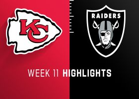 Chiefs vs. Raiders highlights | Week 11