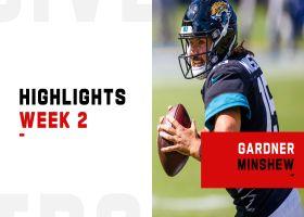 Gardner Minshew's best passes from 3-TD game | Week 2