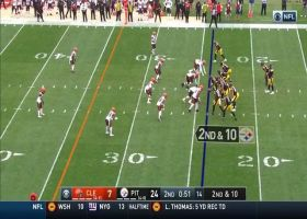 Myles Garrett clamps down on Big Ben for huge sack