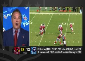 Trotter on Chandler Jones' five-sack game: 'Clearly, money is motivating him'