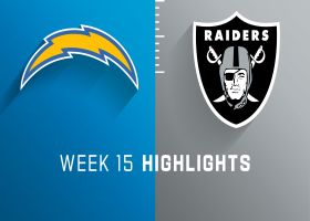Chargers vs. Raiders highlights | Week 15