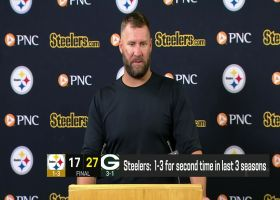 Roethlisberger after 1-3 start: 'We've had some down years; it's probably never started like this'