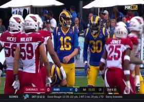 Goff finds Cooper Kupp over the middle for 24-yard catch and run