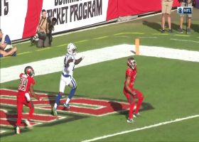 Brissett stays cool under pressure for TD toss to Pascal