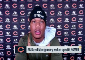 Montgomery: Trubisky has always added 'fuel to the fire' for Bears offense