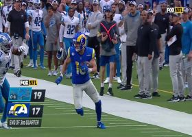 Stafford dials long distance to Kupp for 59 yards