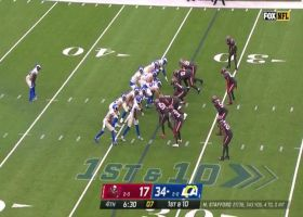 William Gholston drops Stafford for 11-yard sack with quick get-off