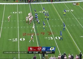 Richie James gashes Rams secondary with 29-yard reception