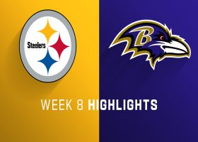 Steelers vs. Ravens highlights | Week 8