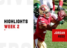 Every catch from Jordan Reed's 2-TD return to action | Week 2