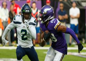 Justin Jefferson finds space in Seahawks' secondary for open 26-yard gain