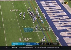 Panthers' D closes the door on Marlon Mack for turnover on downs