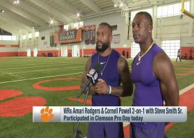 Amari Rodgers, Cornell Powell share what they love most about Trevor Lawrence