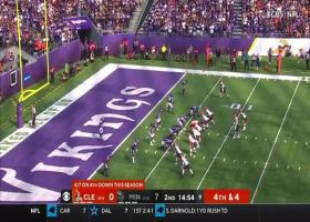 Everson Griffen buries Baker Mayfield on massive fourth-down sack