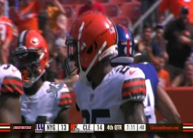 Browns stonewall Gary Brightwell on Giants' two-point try
