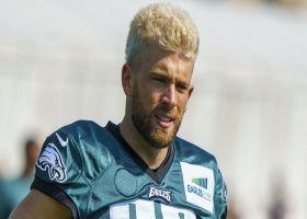 Garafolo: Why 'I'm skeptical' Ertz is on Eagles' roster Week 1, despite Roseman's comments