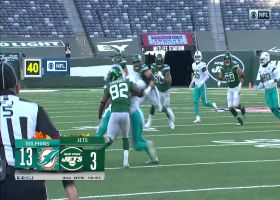 Nik Needham stiff-arms Jets after INT vs. Darnold