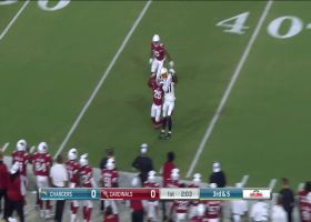 Mike Williams catches perfect 28-yard pass from Tyrod Taylor