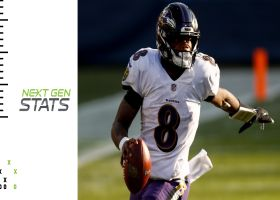 Next Gen Stats: How Lamar Jackson earned his first playoff win